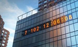 «Climate Clock» στη Νέα Υόρκη (video)