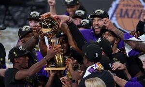 NBA: Δείτε με ποιον τρόπο η Google τιμά τους πρωταθλητές Lakers (pics)