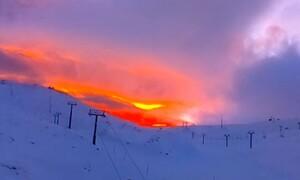 Καιρός: Απίθανες φωτογραφίες! Οταν ο ουρανός... βάφεται κόκκινος (photos)