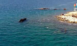 Ταλαντονήσι: Ένα νεκροταφείο ναυάγιων (video)