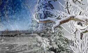 Καιρός: Χιόνια παντού «βλέπει» η ΕΜΥ από βορρά προς νότο...