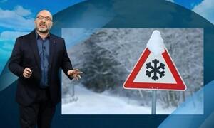 Καιρός: Μεγάλη προσοχή! Προειδοποίηση Αρναούτογλου για τον χιονιά και πολύ νερό