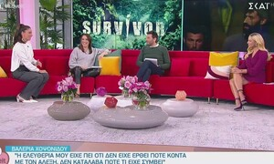 Survivor: Υπάρχει ερωτική σχέση στη μπλε ομάδα; Η αποκάλυψη της Βαλέριας Χοψονίδου