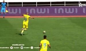 Απίθανη… γκέλα αμυντικού και γκολ για τους αντιπάλους (video)