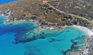 Λιανή Άμμος: Η «πισίνα» του Αιγαίου μόλις δύο ώρες από την Αθήνα (video)