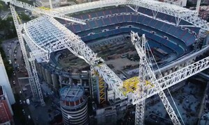 Ρεάλ Μαδρίτης: Εντυπωσιακό βίντεο από την οροφή του «Σαντιάγκο Μπερναμπέου»