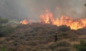 Φωτιά στην Κεφαλονιά: Εκκενώνεται το Καπανδρίτι