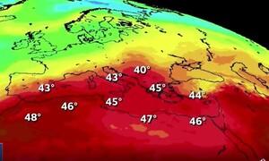 Καύσωνας: Δύσκολη μέρα η Τετάρτη - Αναμένεται «καυτή» - Πού θα δείξει 41 βαθμούς