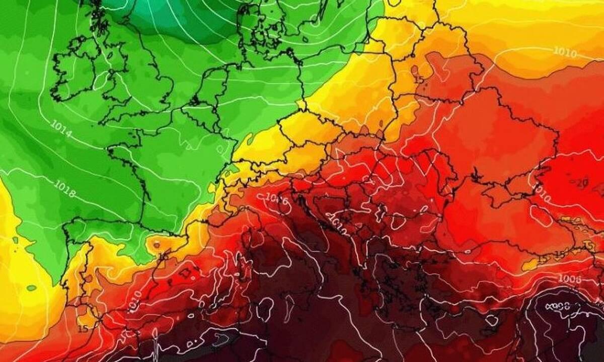 Καύσωνας: Φέρνει... 48άρια μέσα στη βδομάδα! Καρέ - καρέ τα νέα προγνωστικά δεδομένα (ΦΩΤΟ)