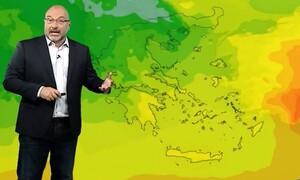 Καιρός: Ερχεται ξανά... ζέστη και λίβας! Η ανάλυση του Σάκη Αρναούτογλου έως το τέλος Αυγούστου