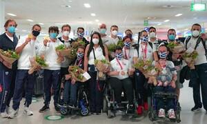 Με 11 μετάλλια επέστρεψε η Ελληνική Παραολυμπιακή Ομάδα από το Τόκιο