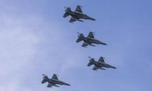 Νέα τουρκική πρόκληση με υπερπτήσεις F-16 πάνω από Μακρονήσι και Ανθρωποφάγους